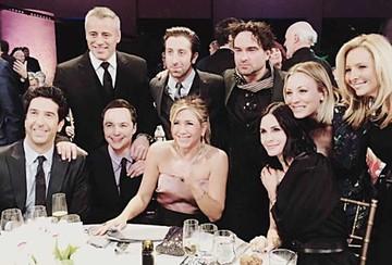 Rachel, Ross, Mónica, Joey y Phoebe: el reencuentro de Friends