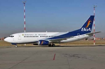 Boliviana de Aviación habilita más vuelos a Oruro y Tarija