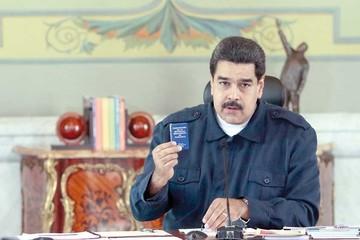 Maduro llama a movilizarse contra una ley