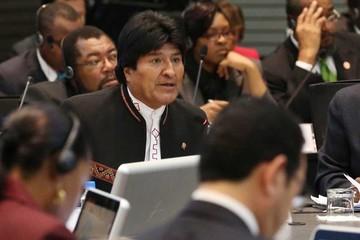 Evo dice que Chile quiere aislar a Bolivia de presidencia de la Celac