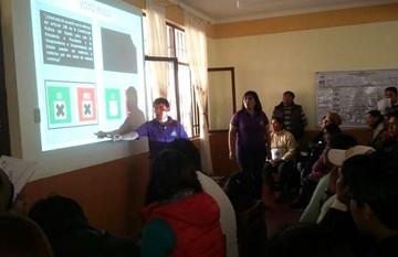 Concluye la jornada de capacitación de jurados electorales en Sucre