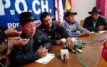 Campesinos de Chuquisaca rechazan bloqueo de transporte y anuncian ampliado de emergencia