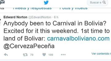 Famoso actor llega para reforzar la marca Bolivia