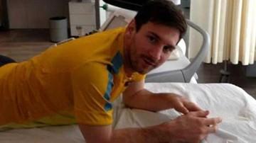 Barcelona prepara  la Copa sin Messi,  que fue intervenido