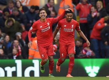Un gol en el último  minuto deja fuera al  Liverpool de la Copa