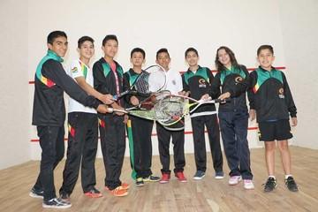Selección de squash parte a Sudamericano
