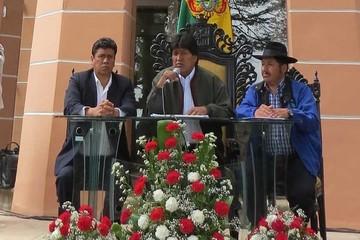 Evo promete $us 2.330 millones a Chuquisaca