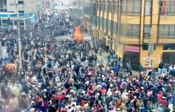 Viceministro acusa a Chapetón por las muertes y ésta denuncia que los responsables son masistas