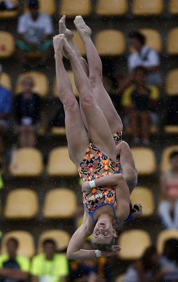 Saltos ornamentales en Río