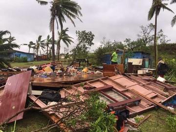 Declaran desastre natural en Fiyi por ciclón Winston