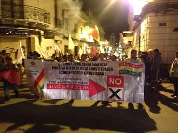 Seis departamentos se inclinaron por el No; el Sí ganó en Oruro, La Paz y Cochabamba