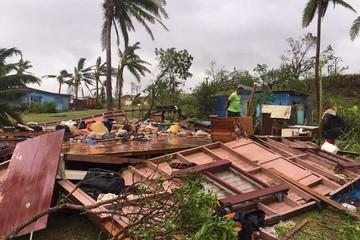 El ciclón Winston deja siete muertos y graves daños en Fiyi