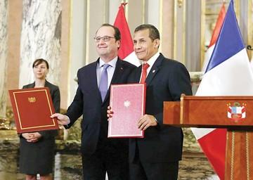 """Perú y Francia hacia una asociación """"privilegiada"""""""