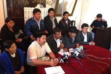 Masistas en Chuquisaca reconocen la derrota pero critican a la oposición