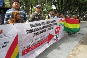 Disidentes del MAS ahora alistan un nuevo proyecto