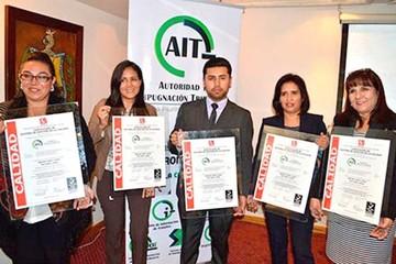 """Ibnorca avala """"gestión de calidad"""" de la AIT"""