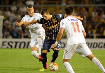 Rosario rescata un empate sobre el final del partido