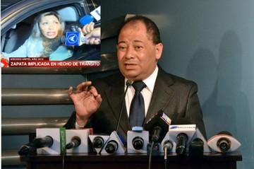 Ministro Romero confirma la aprehensión de Gabriela Zapata por riesgo de fuga