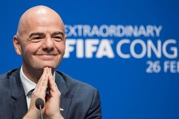 """Infantino: """"Se van a sentir orgullosos de la FIFA"""""""