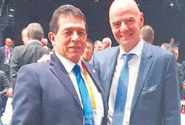 López asegura que Infantino visitará Bolivia