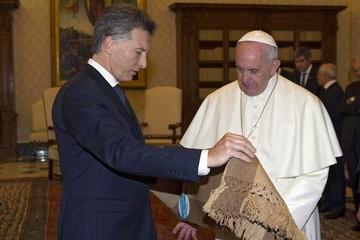 El Papa y Macri hablaron de lucha contra la pobreza