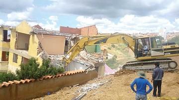 Demuelen vivienda del barrio San Luis Bajo
