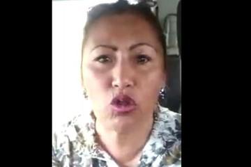 Detienen en cárcel de Obrajes a ex dirigenta de policías, Guadalupe Cárdenas, por sedición