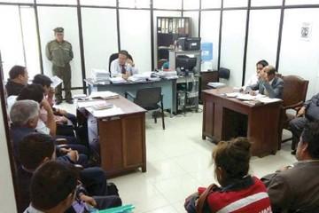 Encarcelan a juzgadores  acusados de corrupción