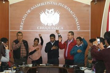 Chuquisaca: Callejas es ratificado como presidente de la Brigada Parlamentaria