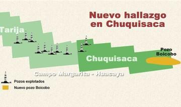 Boicobo subirá porcentaje de regalías de Chuquisaca