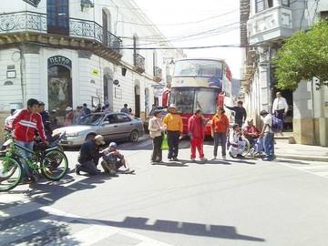 Personas con discapacidad seguirán con sus protestas