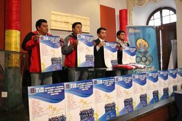 Clubes del país se citan en Sucre