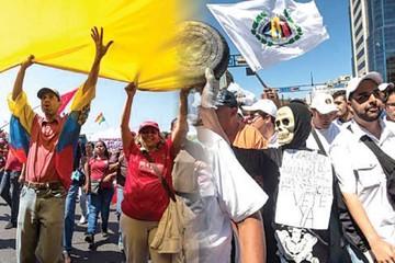 """Maduro prepara defensa ante """"presión de la calle"""""""