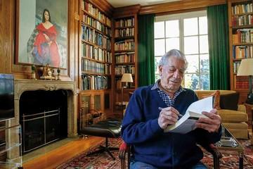 """Vargas Llosa: """"Asumo con  deportividad mi edad"""""""