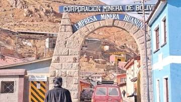 Huanuni: Autoridades lamentan el uso de niños en el robo de minerales