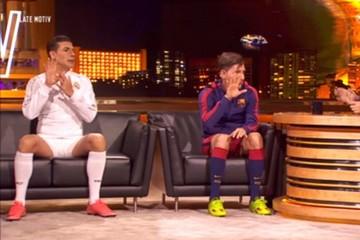 Vea la divertida imitación de Messi y Cristiano en un programa de televisión