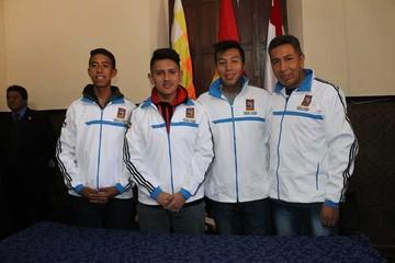 Selección boliviana viaja al Panamericano de raquet
