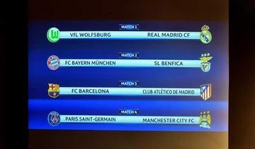 Barça-Atlético, en cuartos