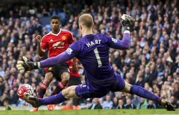 United se queda con el derbi gracias al juvenil Rashford