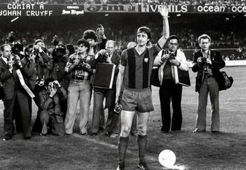 """El Barça expresa su pésame por Cruyff, al que considera """"leyenda"""" del club"""