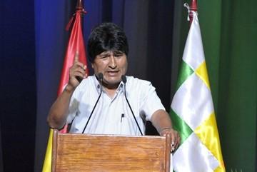 Evo Morales anuncia que recurrirá a La Haya para recuperar aguas del Silala