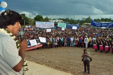 Morales alista una visita al Silala y Chile define hoy cómo responder