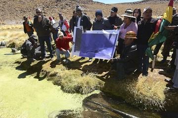 """Chile asegura que visita de Evo al Silala """"no cambia la realidad"""""""