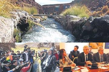 Silala: Bolivia creará otro equipo  de expertos para tratar demanda