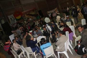 Disidentes del MAS crean nuevo partido en Sucre
