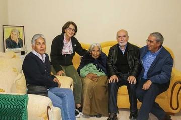 Conmovedor reencuentro con Cesárea Ríos