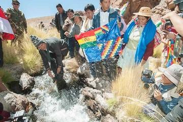 En Chile creen que Evo usa Silala para ganar respaldo
