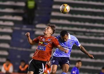 Bolívar resignó  un empate jugando en casa