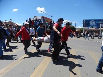 Accidente eclipsa fiesta de motos y karting