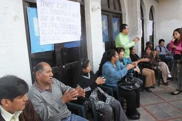 Los trabajadores de Ecobol, en paro indefinido por salarios devengados